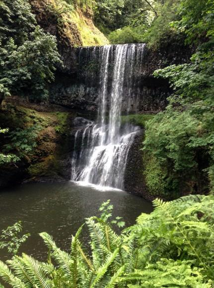 Lower silver Falls