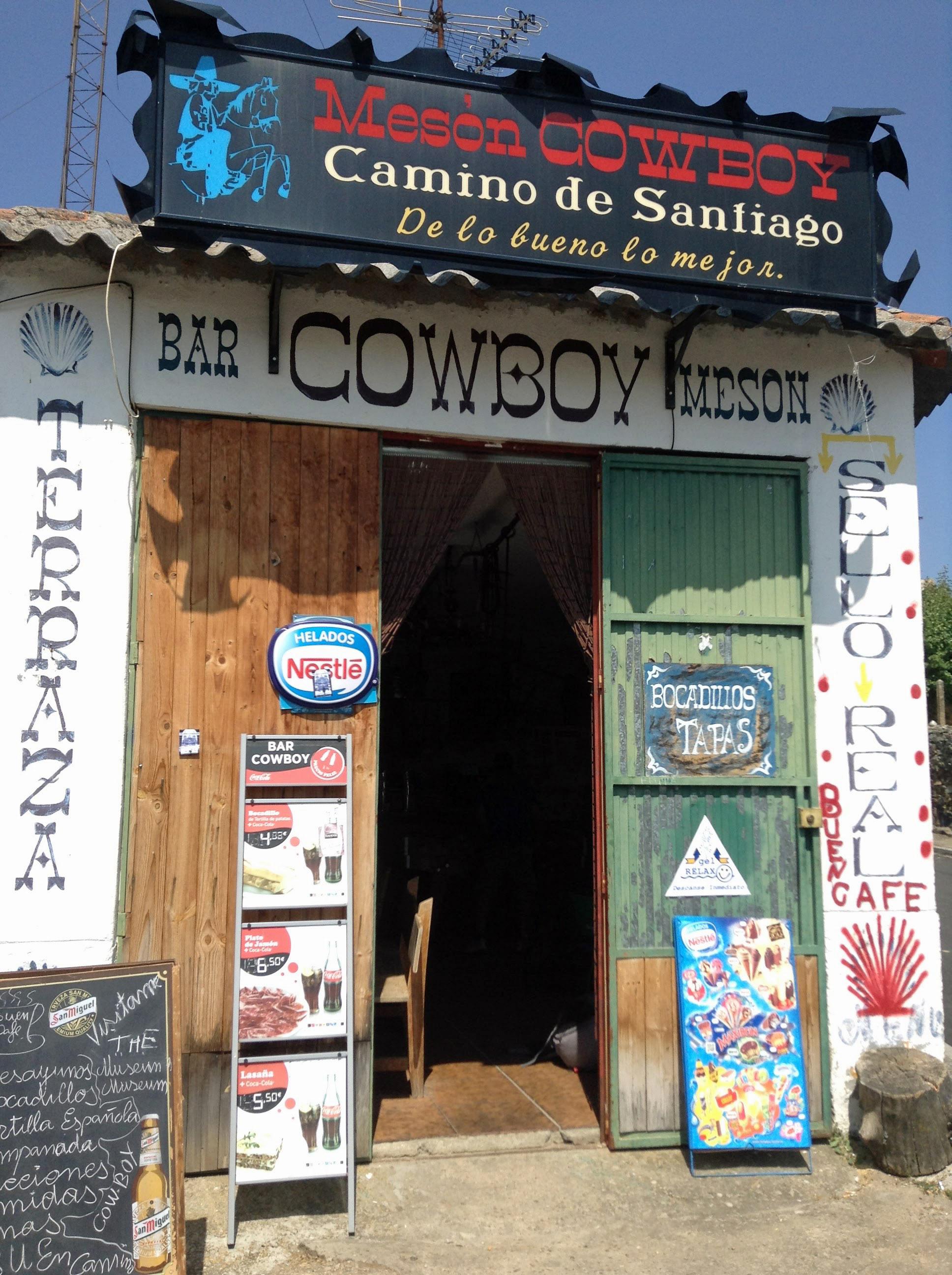 Old Green camino door Camino cowboy door ... & WordPress Photo Challenge: Variations on a Theme- Doors \u2013 By Alanna Pass