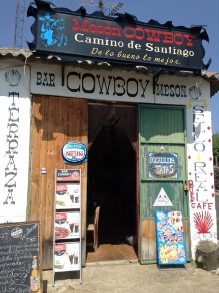 Camino cowboy door