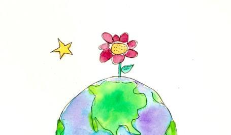 big flower logo